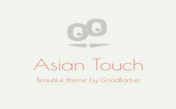 Yeni Tema : Asian Touch