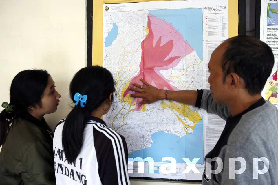 Bali : risque élevé d'éruption volcanique