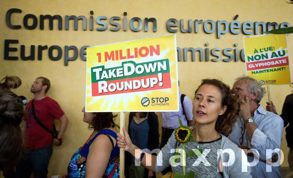 Glyphosate : Vote de l'UE