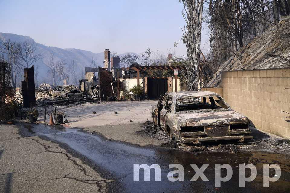 Los Angeles et sa région dans les flammes