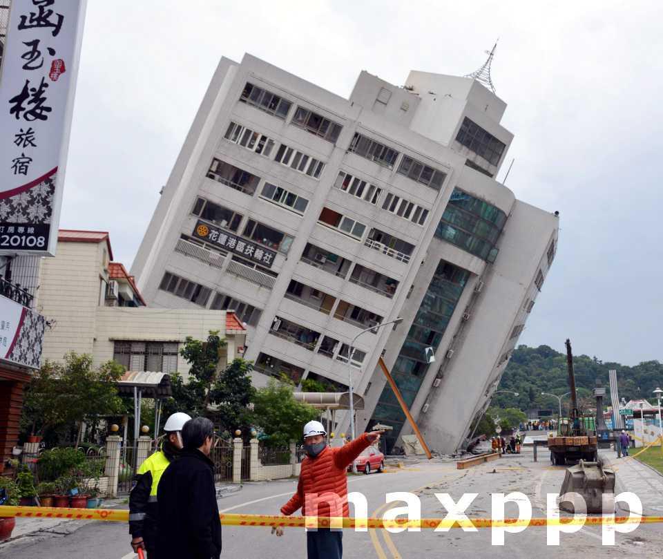 Tremblement de terre à Taïwan
