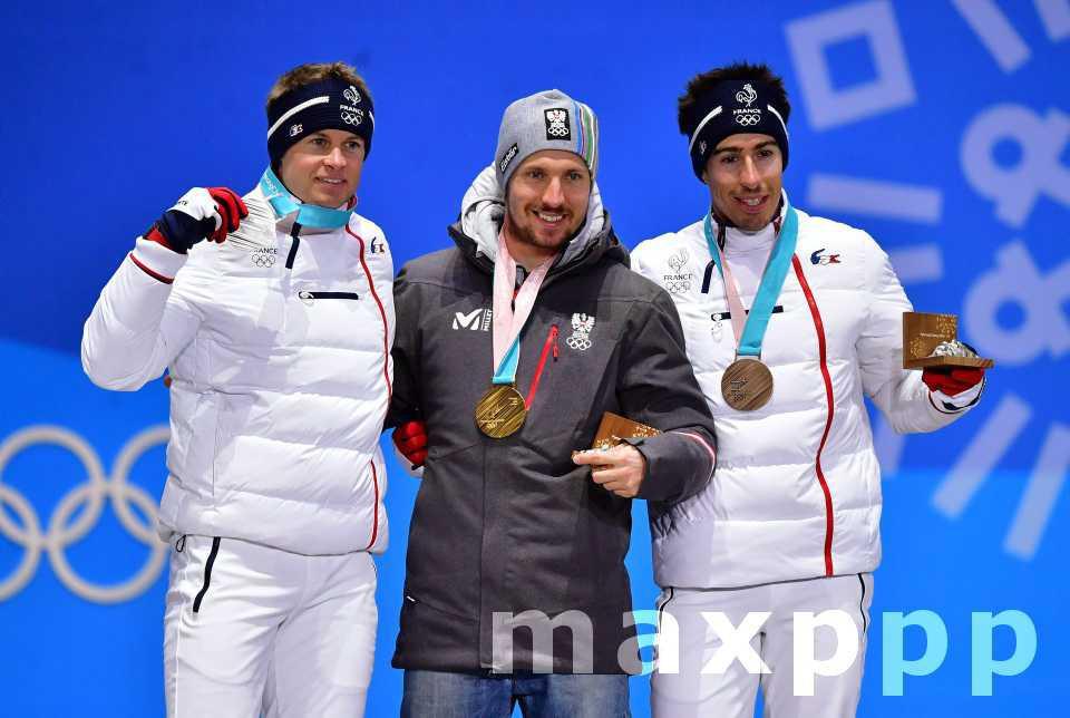 Médailles françaises à Pyeongchang