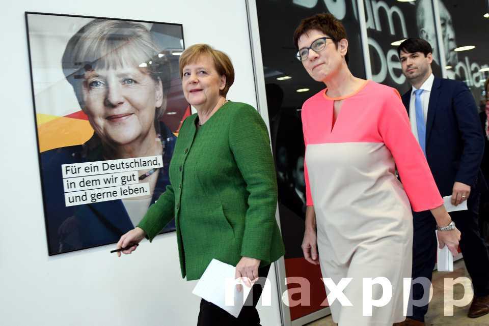 Allemagne : Merkel IV ce 14 mars