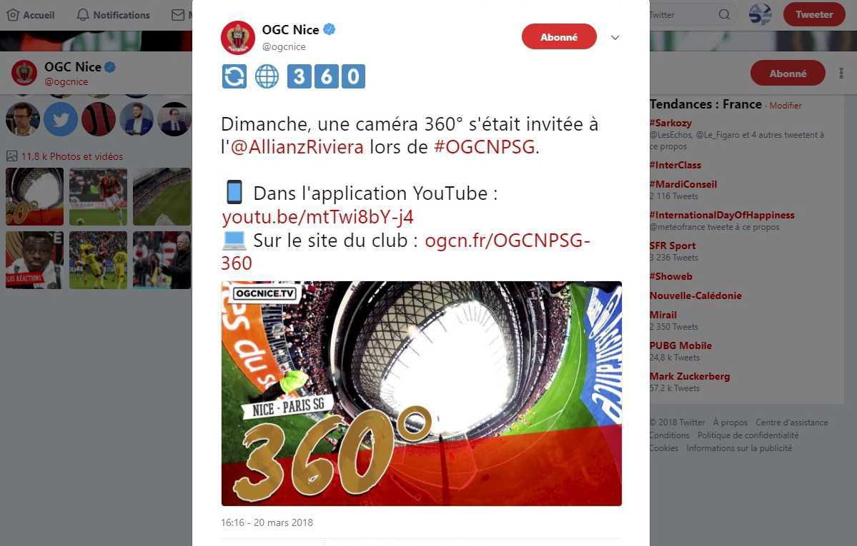 OGC Nice / PSG - Ambiance 360°