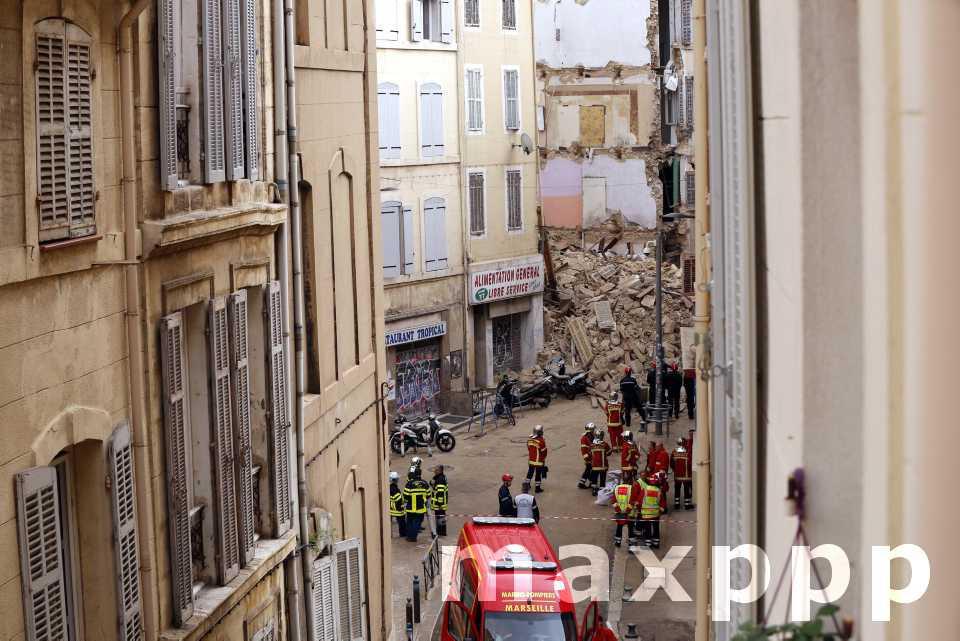 Effondrement à Marseille