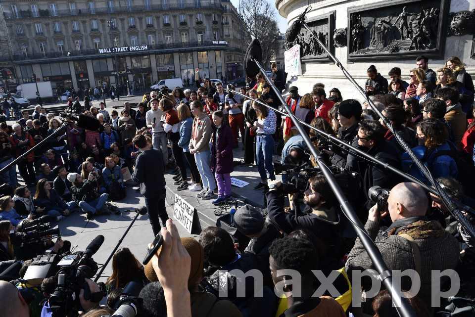 Climat : Greta Thunberg à Paris