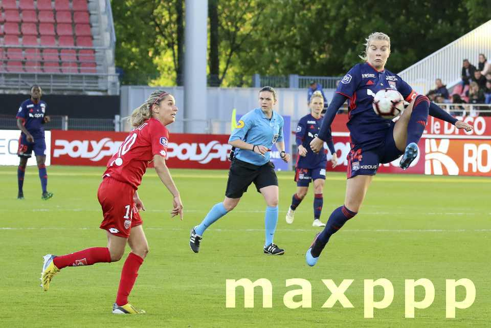 Football féminin, les Lyonnaises encore championnes de France !