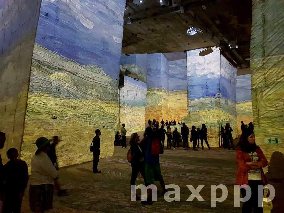 Expositions numériques immersives