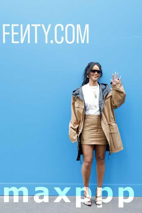 Rihanna Fenty à Paris