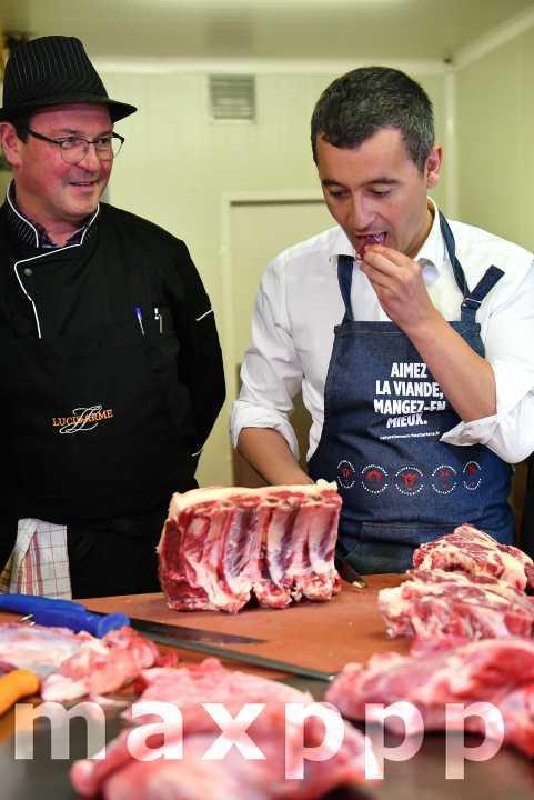 Gérald Darmanin boucher