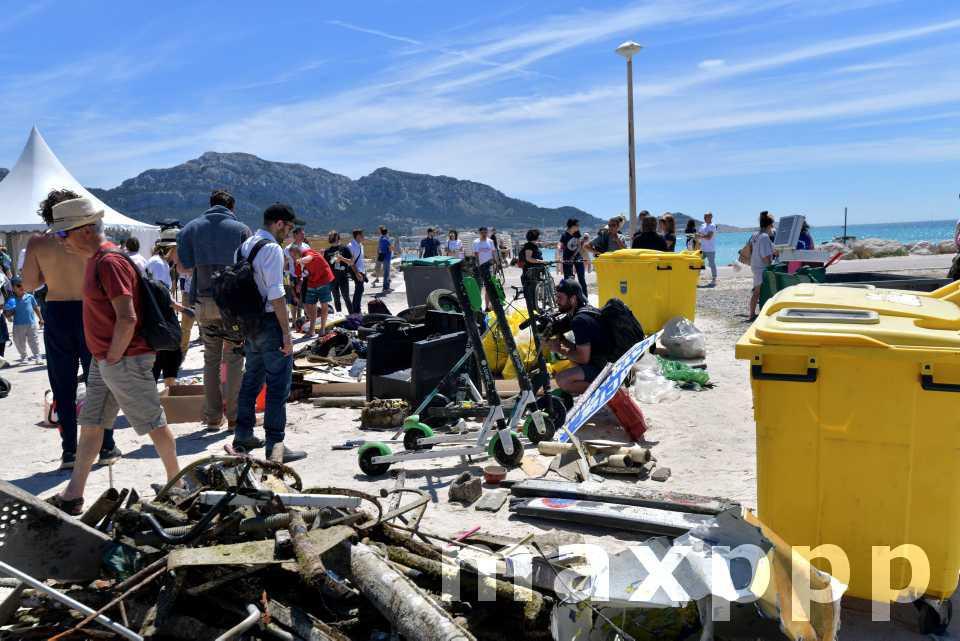 1e course de ramassage de déchets d'Europe
