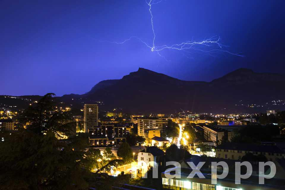 Violents orages en Auvergne Rhône-Alpes