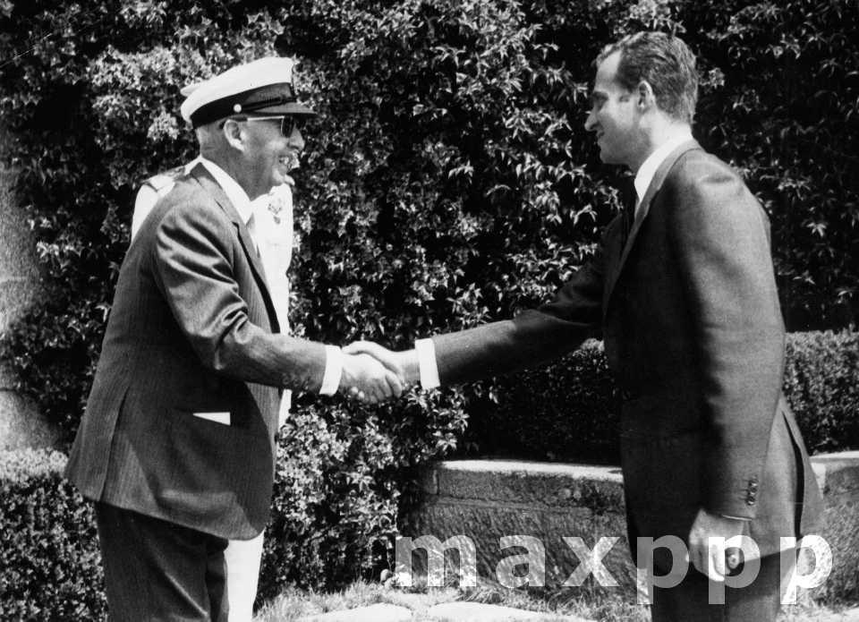 Il y a 50 ans Juan Carlos d'Espagne…