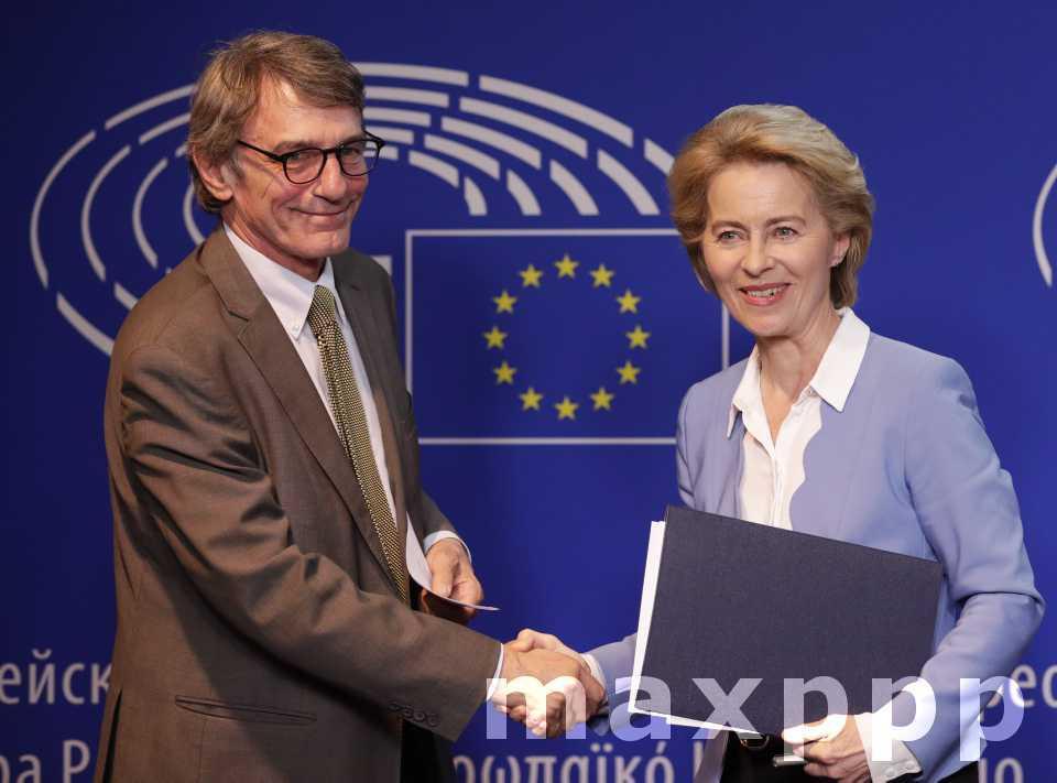 Ursula von der Leyen ce mardi à Strasbourg