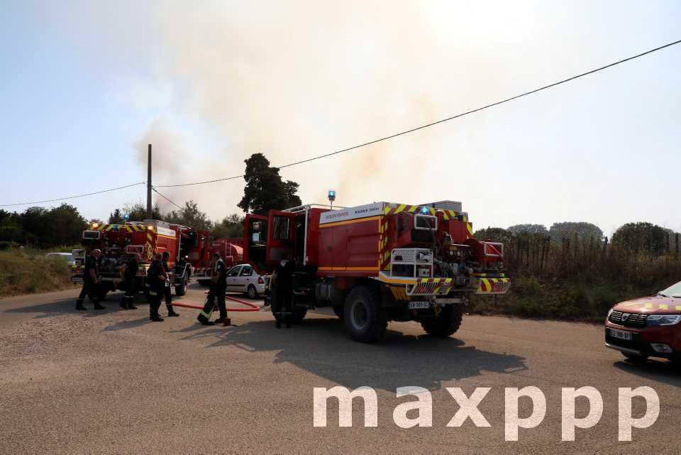 Incendies dans le Gard