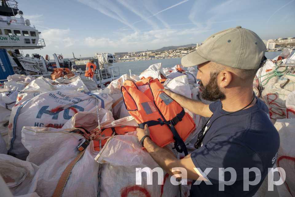 L'Ocean Viking a quitté Marseille