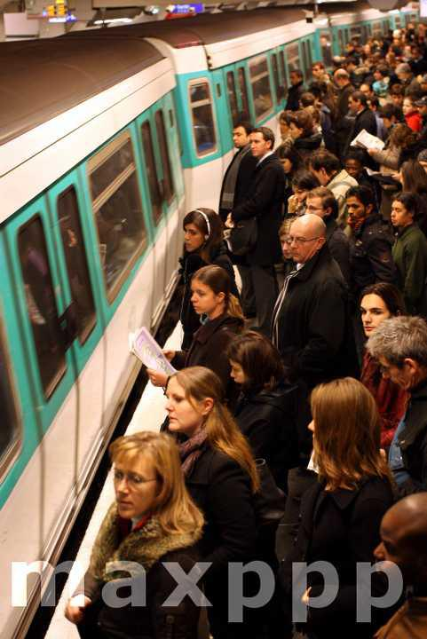 Vendredi 13 : journée noire dans les transports parisiens