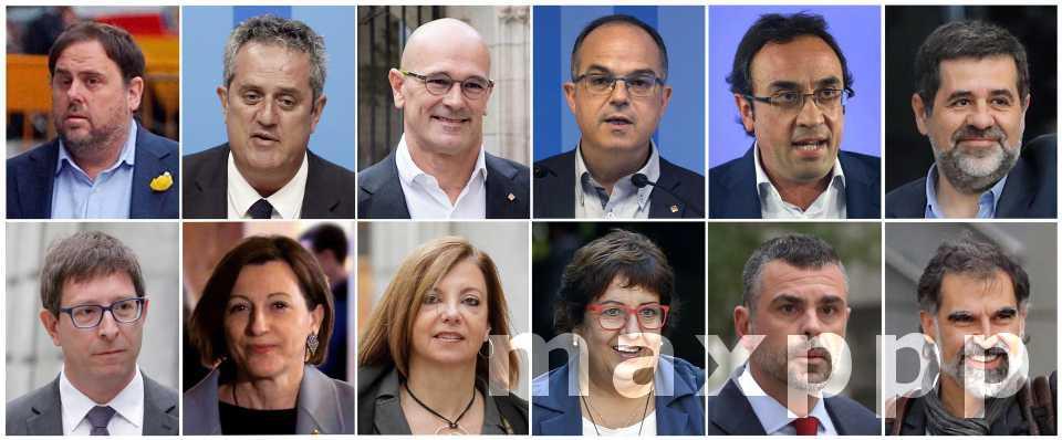 Espagne : condamnation des indépendantistes catalans