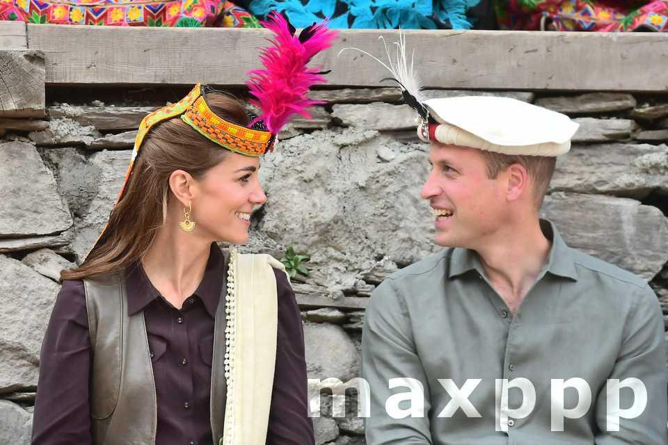 Will et Kate, leur dernier jour au Pakistan