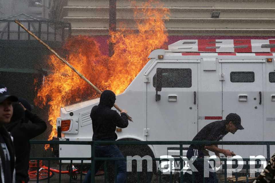 Le Chili en état d'urgence
