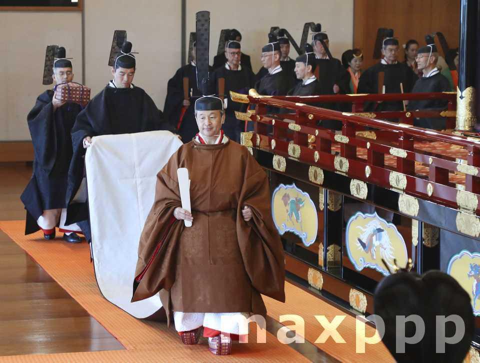 L'intronisation de l'empereur Nahurito