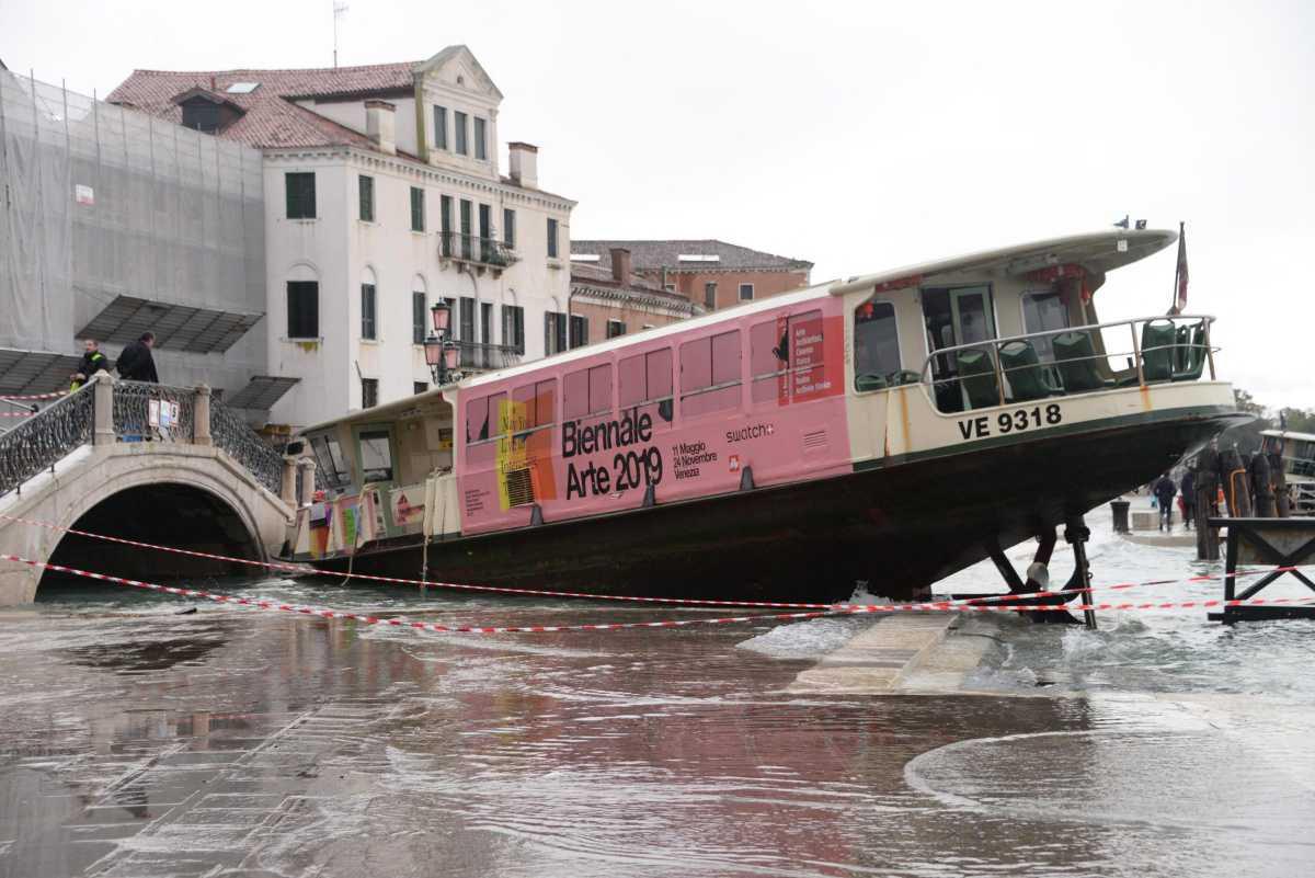 Acqua altissima à Venise