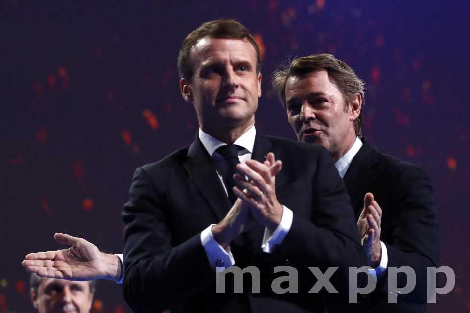 Macron au congrès de l'AMF