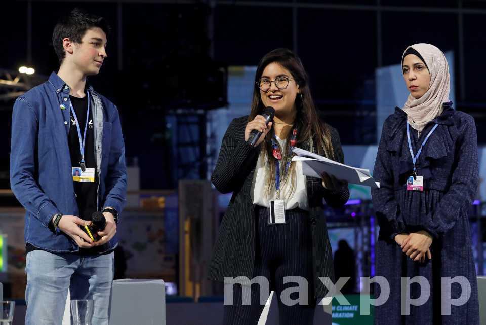 La COP25 et les jeunes