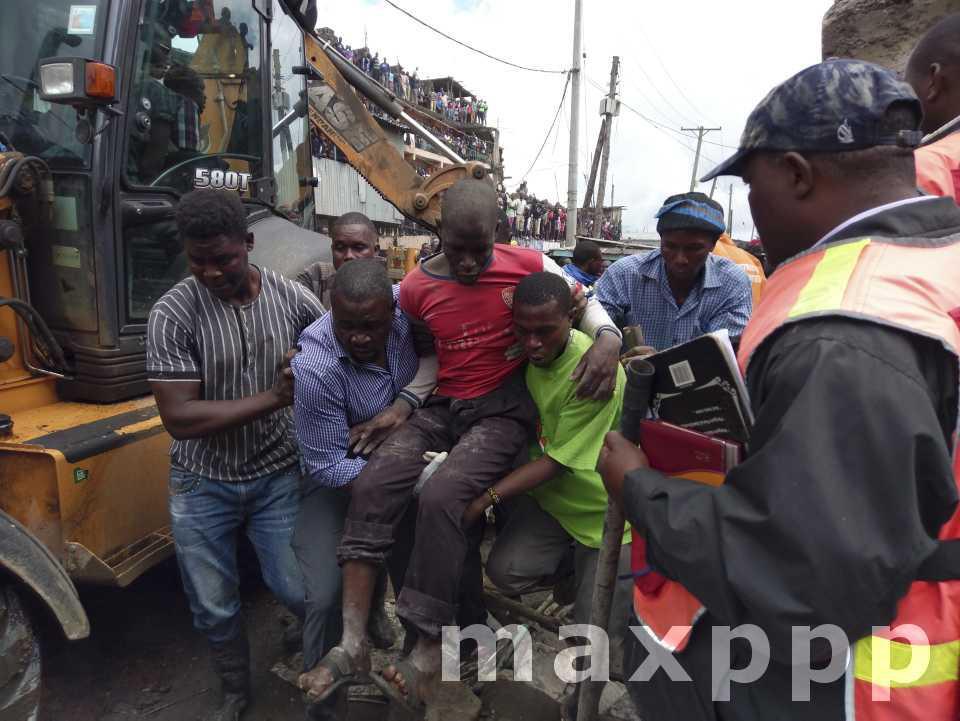 Kenya : Effondrement d'un immeuble de 6 étages