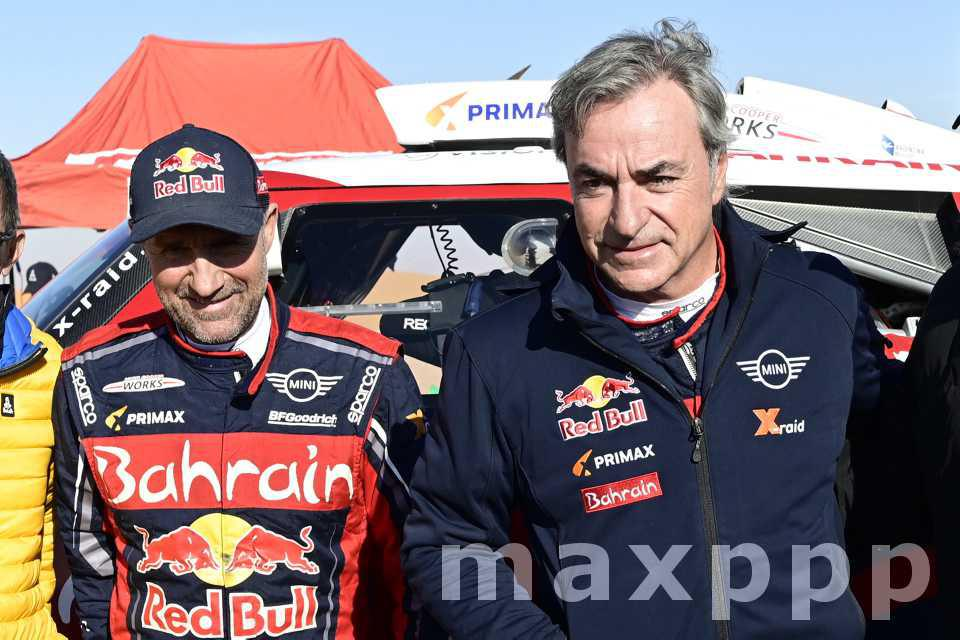 Carlos Sainz vainqueur du Dakar 2020