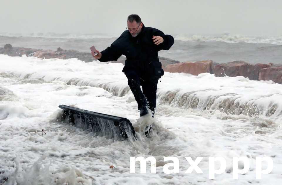 La tempête Gloria sur la France après l'Espagne