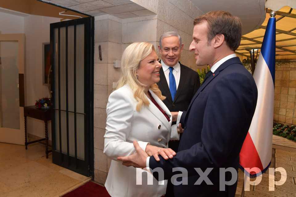 Emmanuel Macron à Jérusalem
