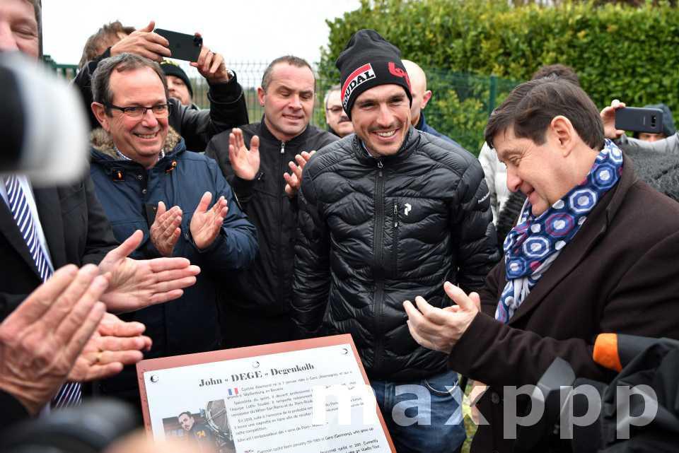 John Degenkolb honoré sur le Paris Roubaix
