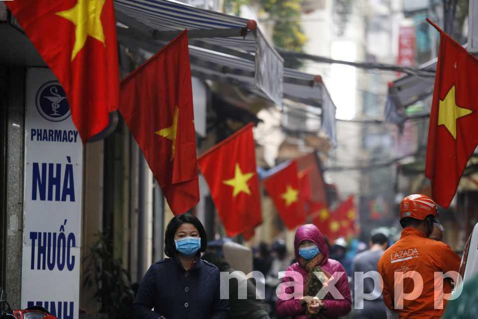 Covid-19 : Ville vietnamienne en quarantaine