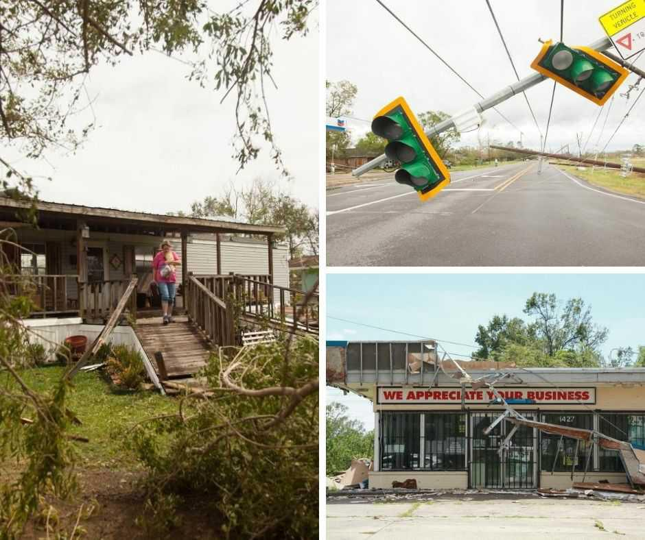 [Portfolio] - L'ouragan Laura fait six morts en Louisiane