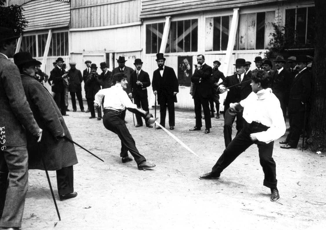 [RETROphotos] - Les duels à l'épée en France au XXe siècle