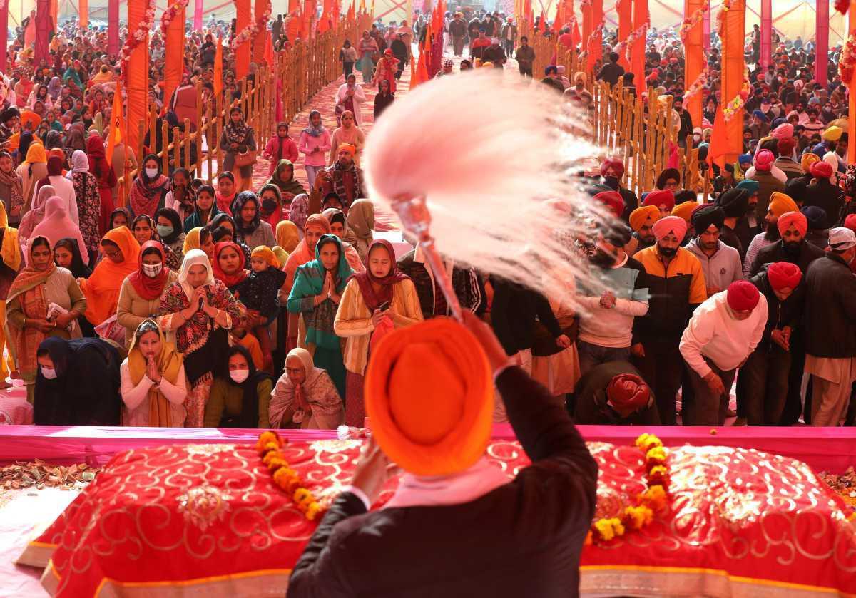[ Focus ] - Inde : Les Sikhs commémorent l'anniversaire de la naissance de Guru Gobind Singh