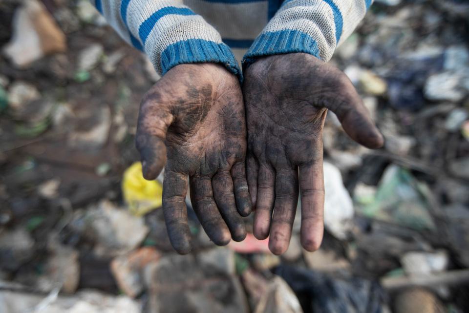 [Focus] - Pauvreté: la dure vie d'enfant chiffonnier en Inde