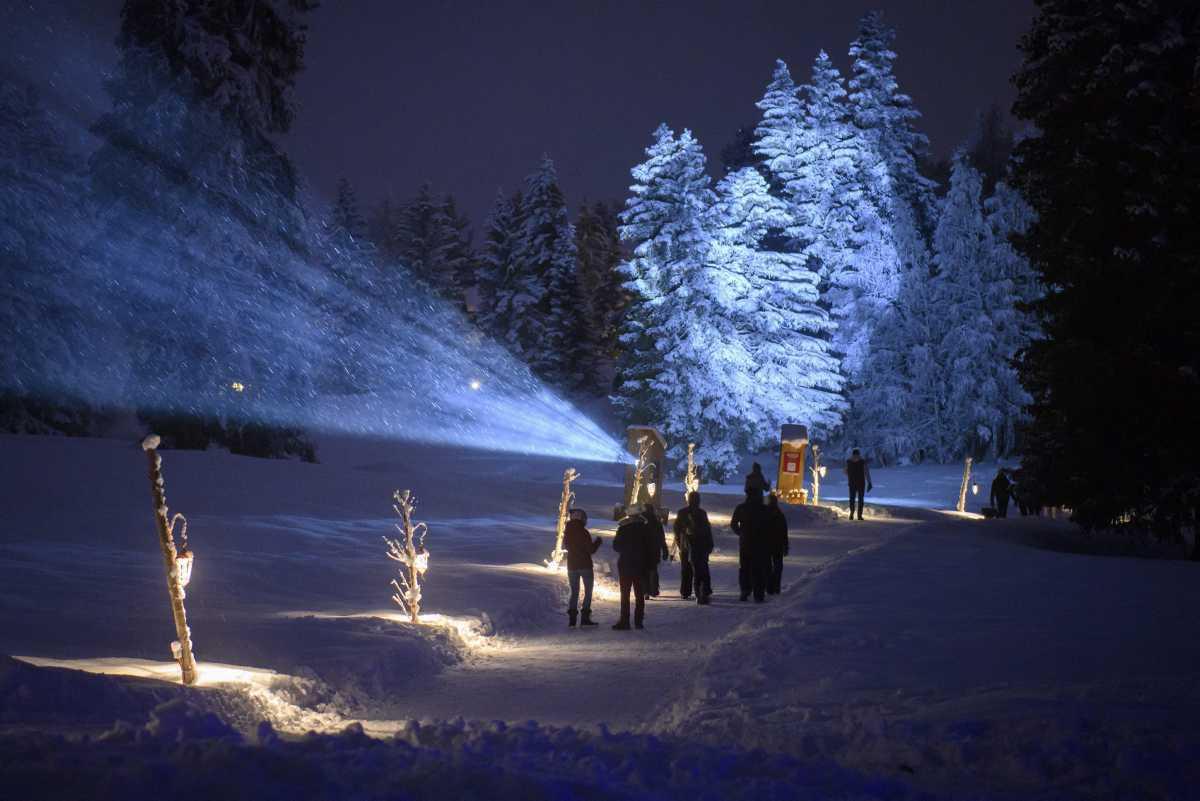 [ Focus ] - Crans-Montana : découvrez la féérie du Chemin des Lanternes
