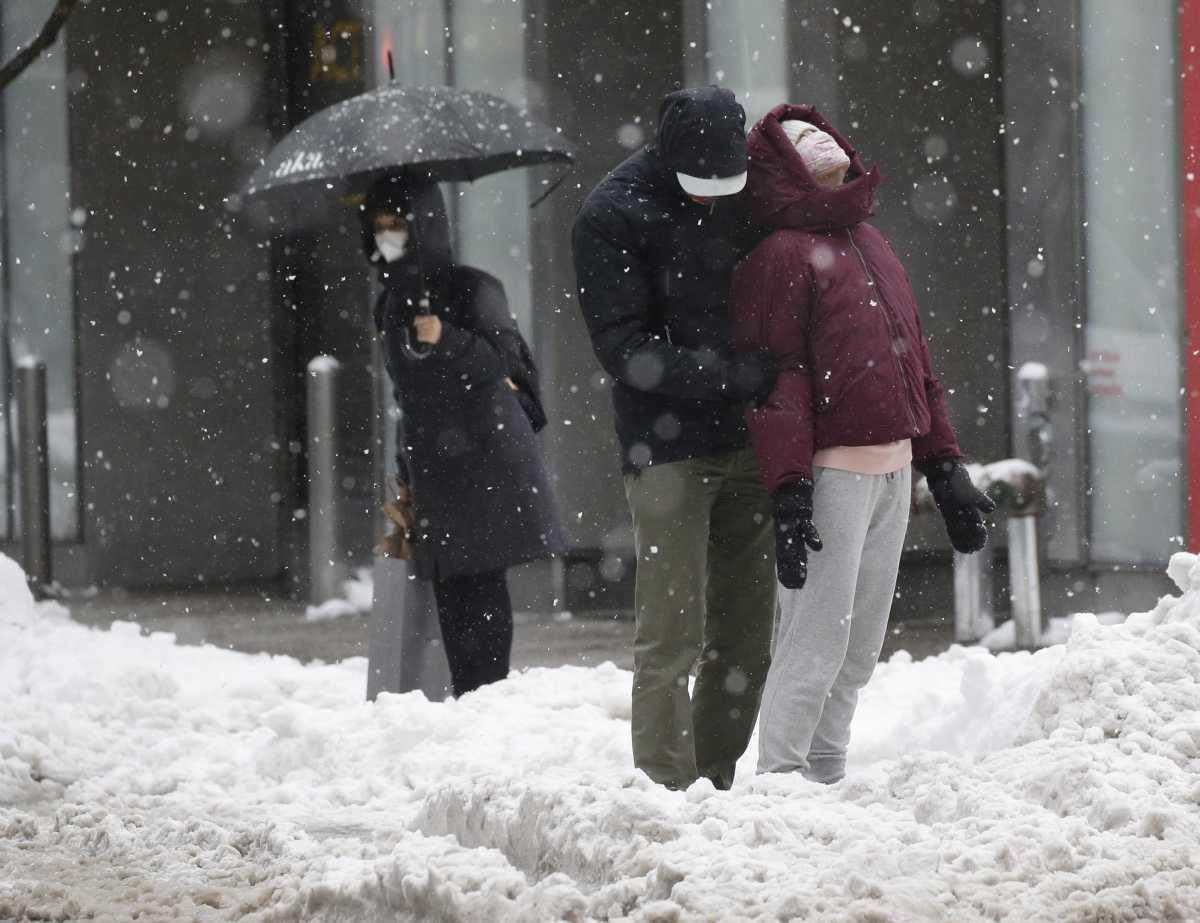 [ Focus ] New-York - Retour en photos sur une tempête de neige annoncée