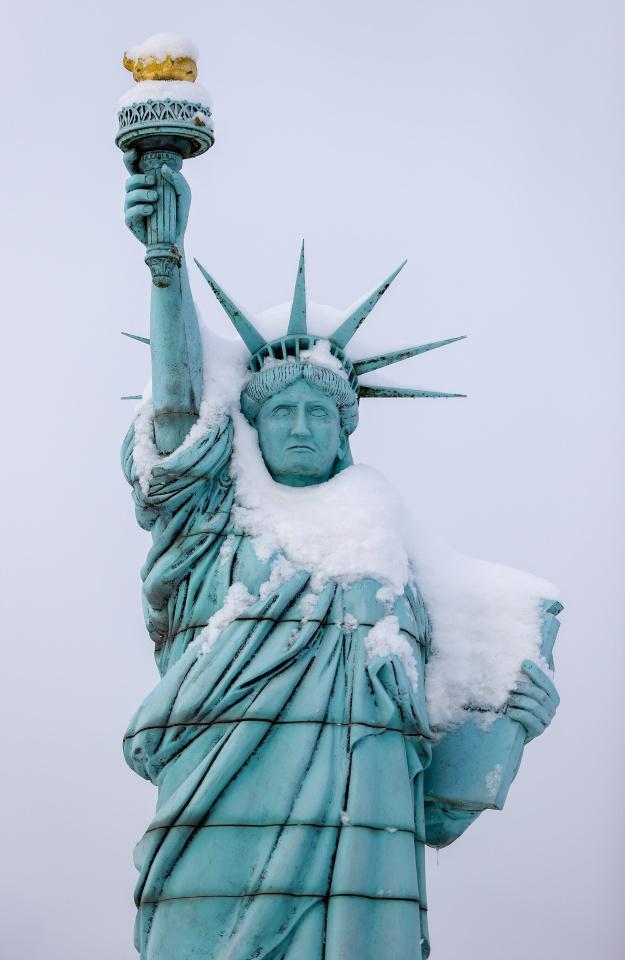 [Focus] - Les monuments du monde entier sous la neige !