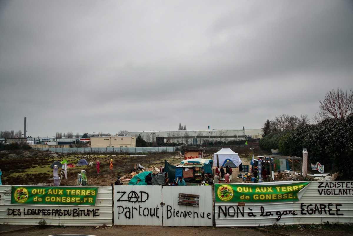 [Focus] - Ligne 17 du métro de Paris : des militants installent une ZAD à Gonesse