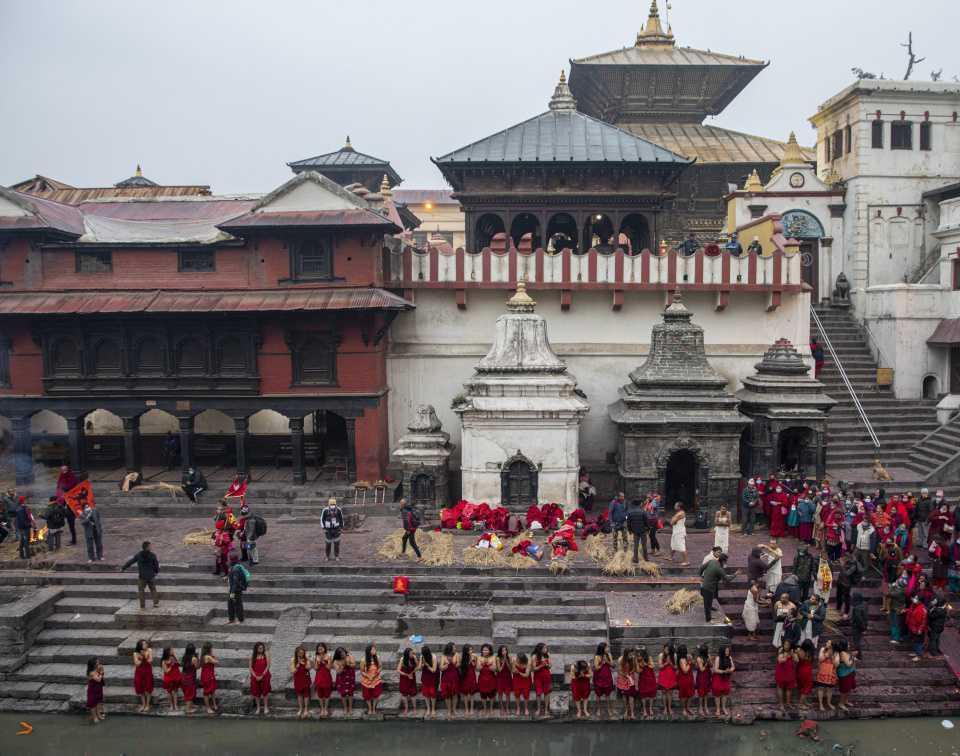 [Focus] - Népal : découvrez les photos colorées du festival Madhav Narayan !