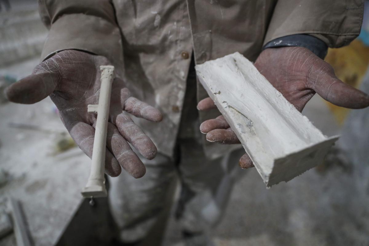 [Focus] - Syrie : passionné, il réalise la maquette de la Cité de Palmyre aujourd'hui défigurée par la guerre