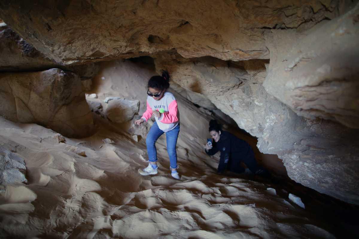 """[Focus] - Egypte : les photos à couper le souffle du """"rocher-champignon"""""""