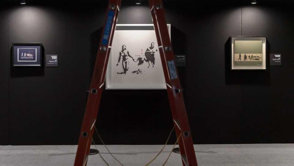 [Focus] - Banksy : plus de 100 œuvres d'art exposées en Suisse