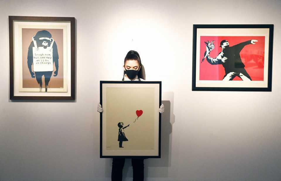 [Focus] - Art : Banksy, une vente aux enchères à ne pas rater !