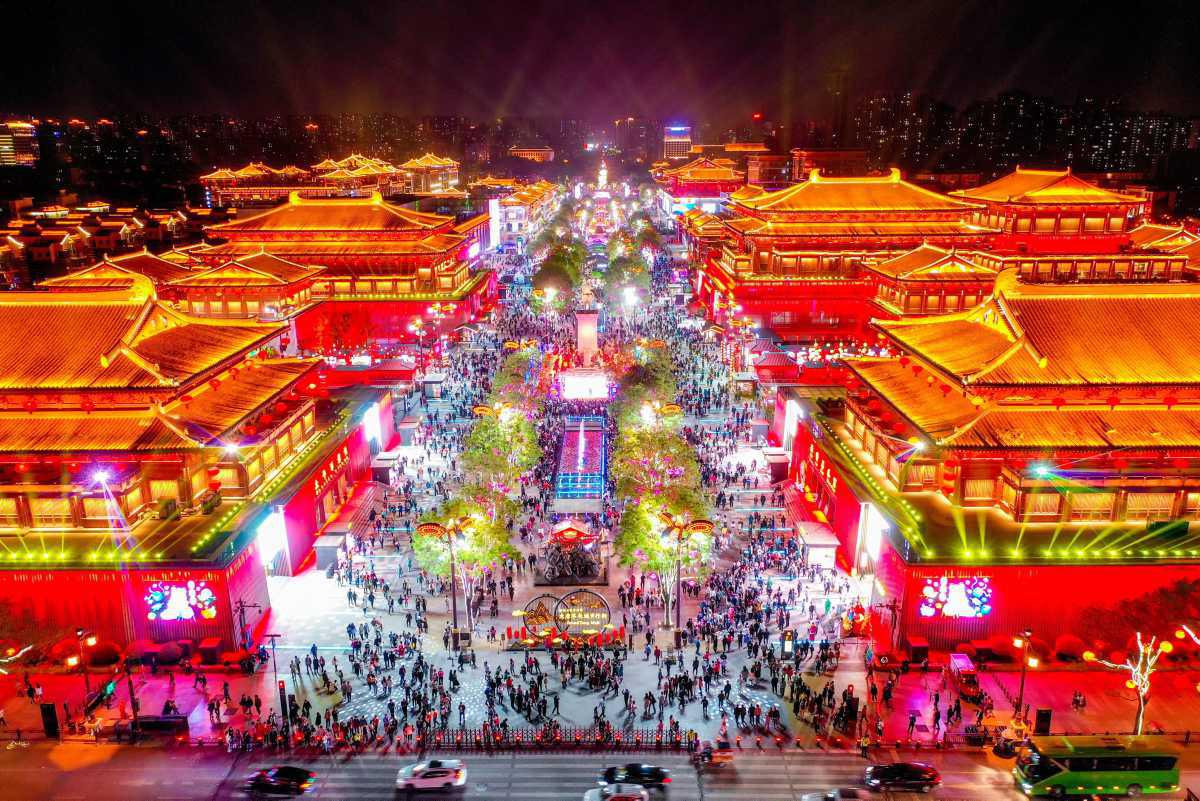 [ Focus ] - Chine - Tang Paradise : attention les yeux !