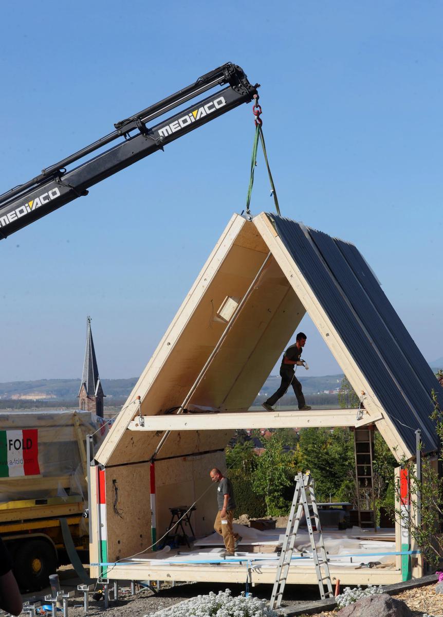 [ Focus ] - La première maison pliable arrive en France!