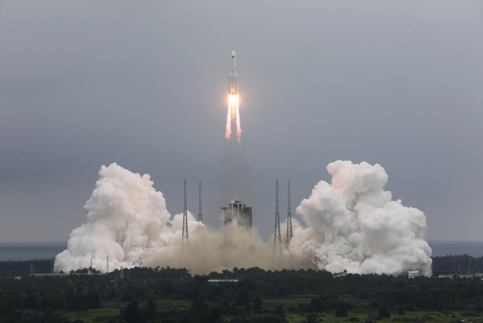 [Focus] - Astronomie : la première partie de la station spatiale chinoise lancée avec succès !